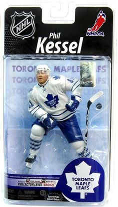 Toronto Maple Leafs McFarlane NHL Series 25 Figure: Phil Kessel (Bronze Level Variant)