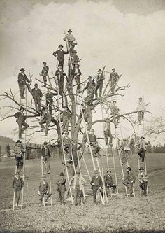 vintage everyday: Funny Vintage Photos About Men That Can't Be Explained Vintage Humor, Funny Vintage Photos, Images Vintage, Photo Vintage, Vintage Photographs, Old Pictures, Old Photos, Create A Family Tree, Tree People