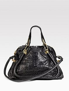 Chloé Paraty Python Tote- at almost 4k I can admire it from afar