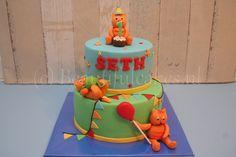 Een Dikkie Dik-taart voor Seth.