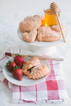These heart shaped biscuits would make for a sweet breakfast in bed experience.