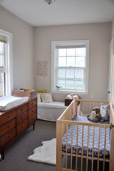 good use of small space for a nursery