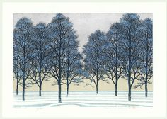 Treescene 115, 2004 by Hajime Namiki (1947 - )