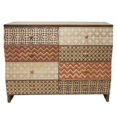 Muses 8 Drawer Cabinet