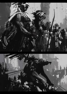 ArtStation - The mayans, Jama Jurabaev