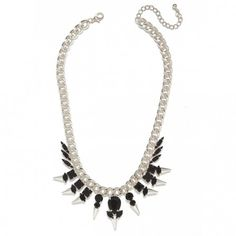 Onyx Plume Necklace