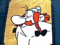Obelix,  personaje de cómic. Comic character Obelix