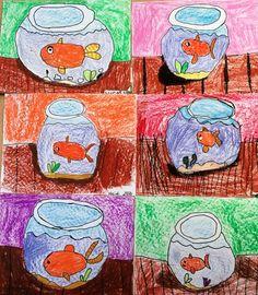 Fishbowls Art LESSON - Art Teacher in LA