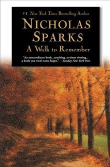 A Walk to Remember by Nicholas Sparks. Buy this eBook on #Kobo: http://www.kobobooks.com/ebook/A-Walk-to-Remember/book-0abpMO2KS0eNp3x42FVhDw/page1.html?s=DcR8n3qqDUyBKY6n6E5R5w=1