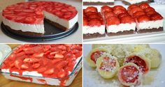Kinder mliečny rez – rýchly a výborný koláčik bez múky! Clean Eating Recipes, Raw Food Recipes, Sweet Recipes, Dessert Recipes, Cooking Recipes, Czech Recipes, Russian Recipes, Healthy Deserts, Pavlova