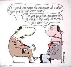 El cambio Political Science, Political Cartoons, Humor Grafico, Hilarious, Funny, Comics, Reading, Emoji, Internet
