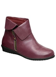 Sofwear® Nelly Boot - AmeriMark - Online Catalog Shopping for Womens Apparel Catalog Shopping, Burgundy Shoes, Cute Boots, Oxford Shoes, Dress Shoes, Booty, Clothes For Women, Stylish, Heels