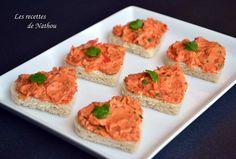 Les recettes de Nathou: Petits toasts aux rillettes de chorizo