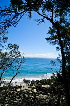 Noosa, Australia - the home of crystalline beaches and tropical rainforests.
