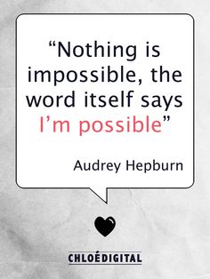 Audrey Hepburn was an amazing woman!