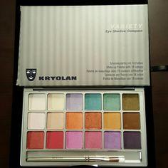 Authentic Kryolan Variety Palette New in box.  Never used Kryolan Makeup Eyeshadow