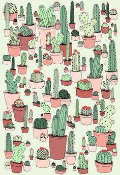 Prickly Pattern on Behance