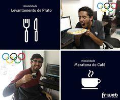A Friweb tem dois atletas participando das Olimpíadas!Os jogos começaram, mas esses dois já são medalha de ouro!