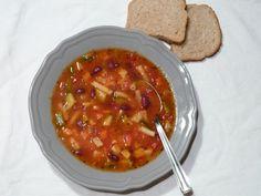 Minestrone leves Chana Masala, Ethnic Recipes, Food, Essen, Yemek, Meals