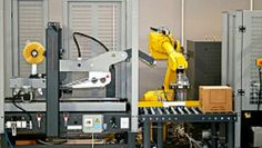 The robot cell is a comprehensive system that comprises of the robot.