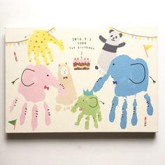 手形(足形)アートでの制作 | ラクガキアートパネルのチルアート Baby Footprint Crafts, Footprint Art, Diy For Kids, Crafts For Kids, Toddler Arts And Crafts, Cute Baby Shower Ideas, Hand Pictures, Handprint Art, Owl Crafts
