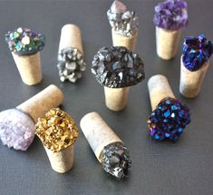 Gemstone Wine Stopper