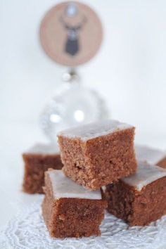 """Diese saftigen Kakao-Rumschnitten sind die absoluten """"Lieblingskekse"""" (als K. These juicy cocoa rum cuts are the absolute """"favorite cookies"""" (you can't call them cookies at all) from my da Easy Cookie Recipes, Donut Recipes, Sweet Recipes, Baking Recipes, Cake Recipes, Best Cookies Ever, Gateaux Cake, Pumpkin Spice Cupcakes, Food Cakes"""