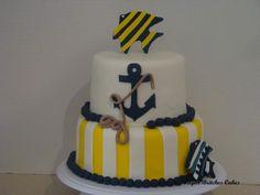 Nautical Cake - www.facebook.com/SugarBritchesCakes.