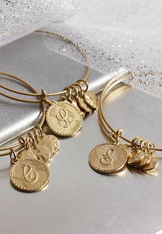 Personalize it.  Initial Bracelets - Versona Accessories - The latest fashion accessory trends