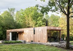 Two partners—in life and business—build a sustainable home on an unassuming plot in upstate New York.