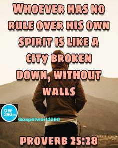 City Break, Bible Quotes, Proverbs, Spirit, Inspirational, Bible Scripture Quotes, Biblical Quotes, Scripture Quotes, Idioms