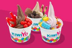 KiwoYo have joined forces with Churro - come in for a fun experience for the whole family and a delicious healthier option frozen dessert. You can also buy Churros if you prefer.