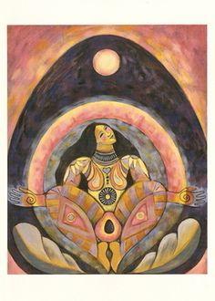 Images of Spirit, Empowering Women, Honoring the Sacred Feminine Dancing in the Womb of Papaya