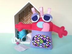 Worry eater  worry doll  worry monster  anxiety by PresentsFelt