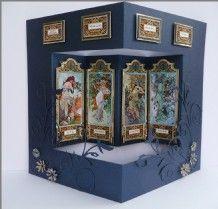 Four Panel Card by Sheila Weaver - Joanna Sheen