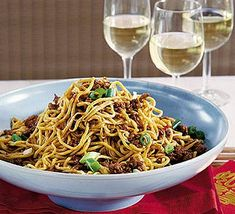 Delectable Peking-style noodles is a perfect meal for two in the evening! It takes 50 minutes to cook  and it works great with Zero Noodles Original.