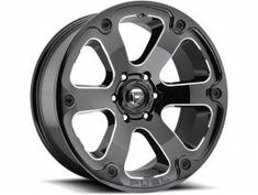 ee607a63a44 2004 Ford F150 Accessories. Fuel Black Beast Wheels
