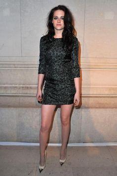 Kristen Stewart Attends the Louis Vuitton-Marc Jacobs Exhibit in Paris