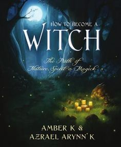 How to Become a Witch. This was one of the first books I read about the Craft and for a rather cheesy title, it had a lot of great info.! :D
