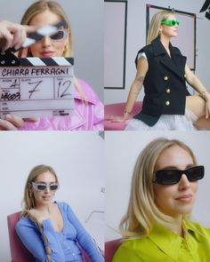 Immediately recognizable by two distinct silhouettes, Chiara Ferragni sunglasses are a celebration of high-fashion feminine essence.  . Chiara Ferragni sunglasses are now SOLD OUT ONLINE in the US and Canada. And only a few pairs left in Europe and Australia, so don't wait! Don't forget to check our store list to grab a pair at a store near you – stock is limited.   #CFexclusivelyAtSunglassHut #SNGH Dope Fashion, High Fashion, Fashion Outfits, Chiara Ferragni Collection, Creative Photoshoot Ideas, Ads Creative, Sunglass Hut, Fashion Videos, Sunglasses Women
