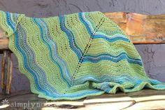 Feather & Fan Shawl Knitting Pattern