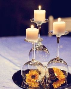 This is not just inspiration for weddding decor, but this can so easily be replicated in your home decor as well. Super duper love this one. [NEW POST] #linkinbio #weddingdecor #floral #candles #wineglass #weddingdecoration #brideonabudget #frugal2fab #newlyengaged #justengaged #bridetobe #weddingideas #budgetwedding #weddingcentrepiece #inspiration #pinterest #love #photography #weddingphotography #centrepiece #sunflower #destinationwedding #weddingday