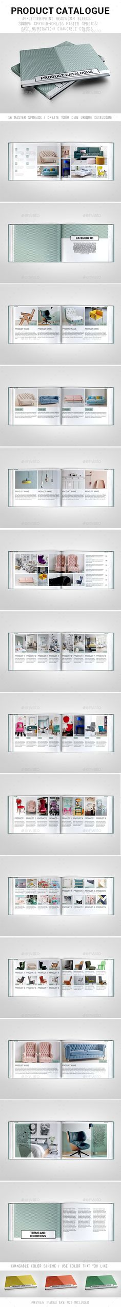 Product Catalogue Template InDesign INDD
