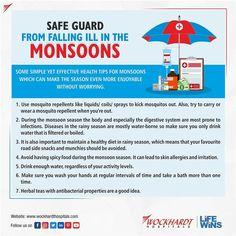 Monsoon, No Worries, Health Tips, Healthy, How To Make, Free, Health