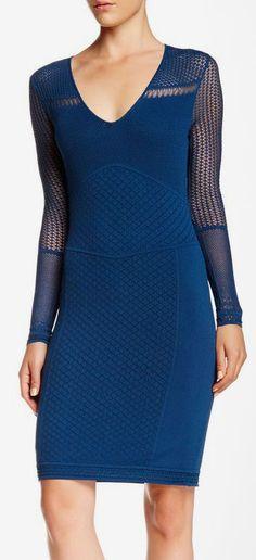 Catherine Malandrino | Yellow Label Matina Bodycon Dress | Sponsored by Nordstrom Rack