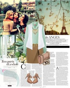 """i don't mind spending my whole life with you"" by diannitafebriani ❤ liked on Polyvore"