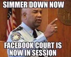 Face Book Court