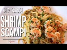 Best Old School Shrimp Scampi | SAM THE COOKING GUY - YouTube