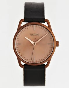 Vergrößern Nixon – Mellor – Schwarze Armbanduhr