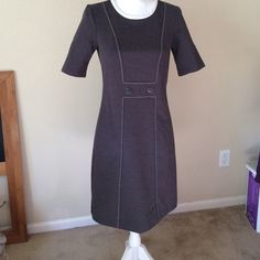 """Tommy Hilfiger Dress Very cute dress for fall and winter. The details at the waist are very flattering. Size Small. Measures 27.5"""" from armpit to end. Tommy Hilfiger Dresses"""